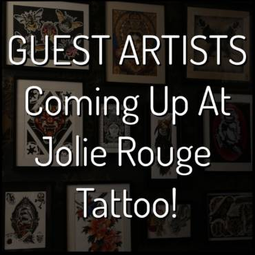 GUEST ARTISTS – Coming up at Jolie Rouge!